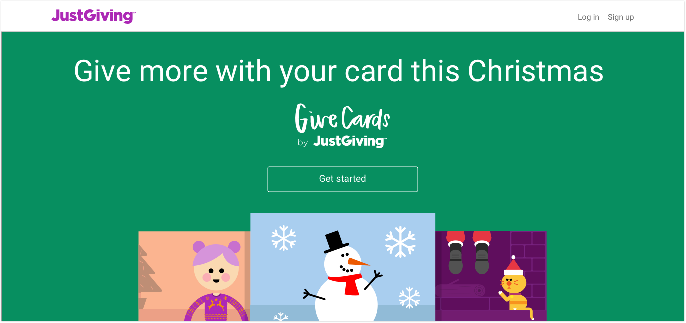 GiveCard by JustGiving